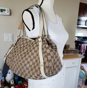 Gucci canvas bag